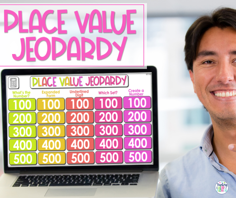 Place Value Jeopardy Blog Cover Photo