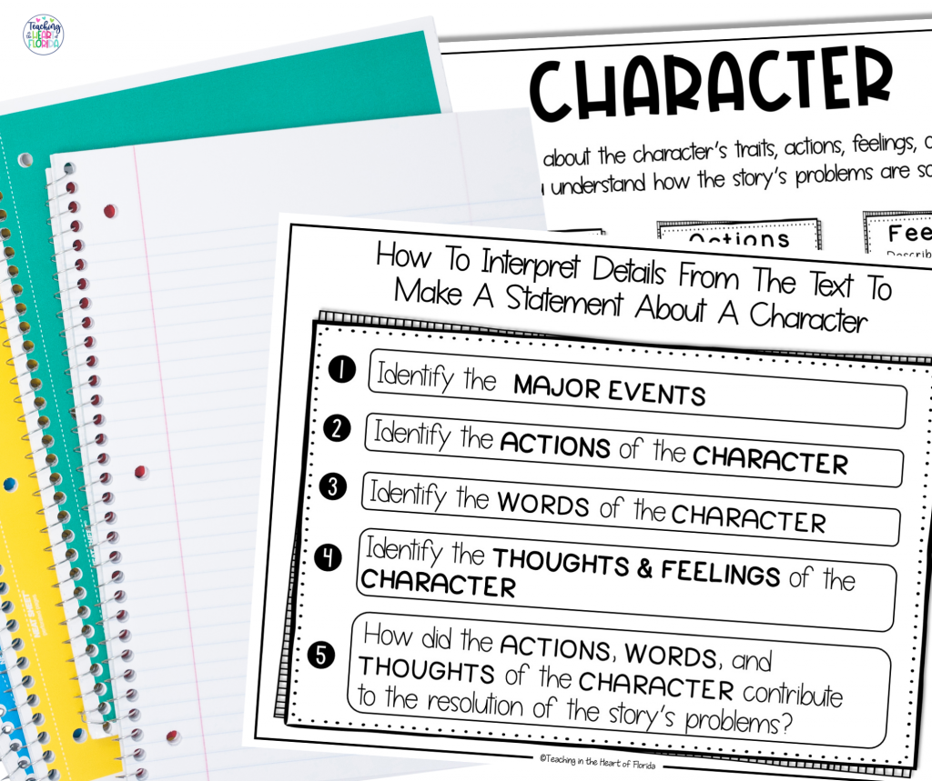 How to Interpret Details About a Character