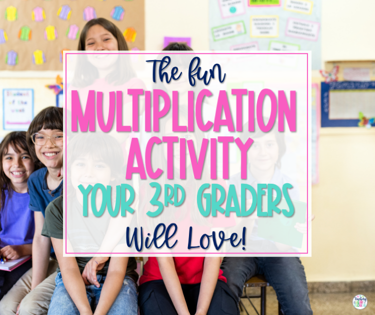 The Fun Multiplication Activity Your 3rd Graders Will Love! Blog Post Header
